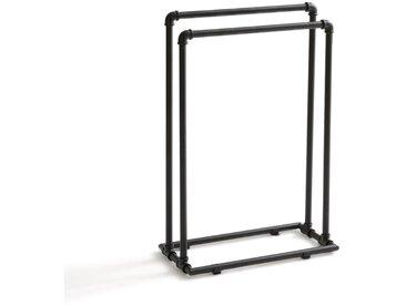 Porte-serviettes en métal INDUS LA REDOUTE INTERIEURS Noir