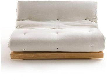 6f6ff2ed5fc25 Banquette futon, 4 positions THAÏ LA REDOUTE INTERIEURS Bois Clair Naturel  Verni