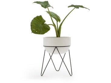 Cache pot H54 cm, Plantae AM.PM Blanc
