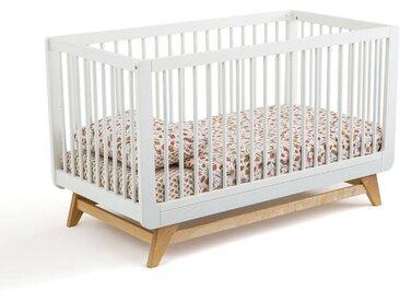 Lit bébé évolutif WILLOX LA REDOUTE INTERIEURS Blanc Cassé