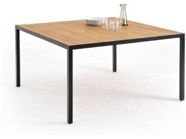 Table à manger carrée en chêne 8 couverts, Nova LA REDOUTE INTERIEURS Chêne