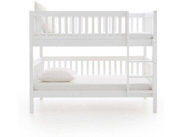 Lits superposés ou lits jumeaux, Diablotin AM.PM Blanc