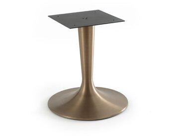 Pied tulipe métal pour plateau ellipse, Hisia AM.PM Laiton Vieilli
