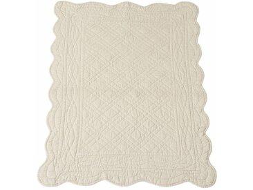 Descente de lit matelassée coton SCENARIO LA REDOUTE INTERIEURS Blanc Écru