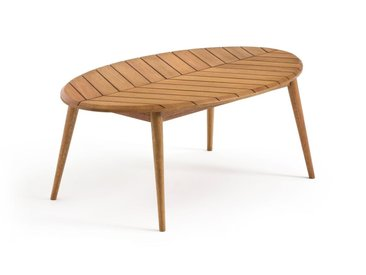 Table basse de jardin eucalyptus FSC* MARSHAM LA REDOUTE INTERIEURS Eucalyptus