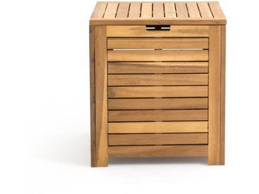 Coffre de rangement en acacia L45 cm LA REDOUTE INTERIEURS Bois Clair Naturel