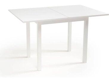 Table à manger extensible 2 à 4 couverts, Everett LA REDOUTE INTERIEURS Blanc