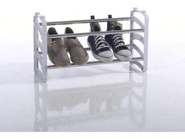 Range-chaussures Ampile, 2 étagères LA REDOUTE INTERIEURS Blanc