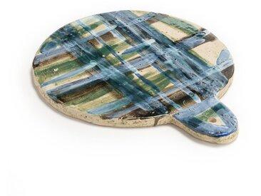 Planche Patagonia Bela Silva pour serax AM.PM Vert/Bleu