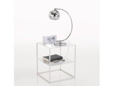 Chevet métal, 2 plateaux, Janik LA REDOUTE INTERIEURS Blanc