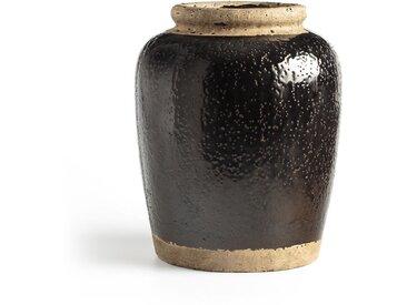 Vase en ciment H30 cm, Anafi AM.PM Noir