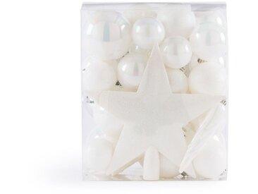 Coffret de 33 pièces de Noël blanches, Caspar LA REDOUTE INTERIEURS Blanc