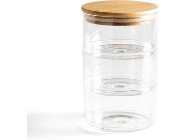 Lot 3 pots de conservation 3 compartiments, Keepy LA REDOUTE INTERIEURS Transparent