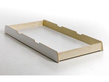 Tiroir de rangement Scandi, design E. Gallina AM.PM Blanc Laque Intérieur Naturel