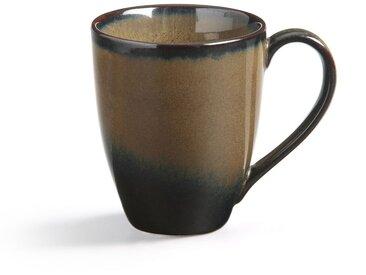 4 mugs grès émaillé, Attale AM.PM Brun