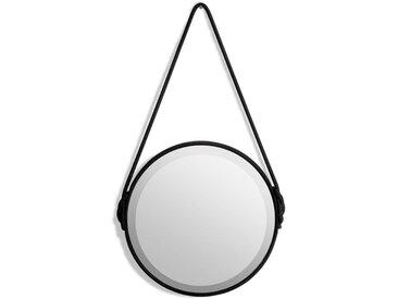 Miroir Ø35 cm, Lien AM.PM Noir