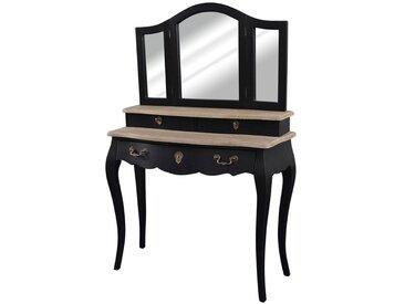 Coiffeuse 3 tiroirs, Trianon LA REDOUTE INTERIEURS Noir