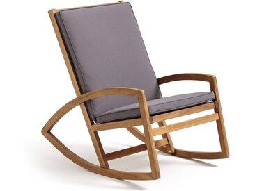 Rocking chair de jardin OZENALD LA REDOUTE INTERIEURS Gris