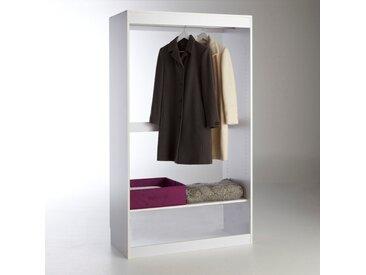 Module dressing, penderie + 1 tablette Build LA REDOUTE INTERIEURS Blanc