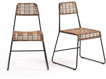 2 chaises de jardin Rubis LA REDOUTE INTERIEURS Naturel