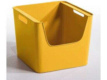 Casier métal L37 x H31,5 cm, Arreglo AM.PM Moutarde