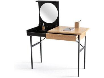 Bureau-coiffeuse TIVARA LA REDOUTE INTERIEURS Chêne/Noir