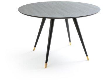 Table à manger ronde 4 couverts, Fresne LA REDOUTE INTERIEURS Noir