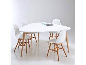 Table de salle à manger 6 personnes, Jimi LA REDOUTE INTERIEURS Blanc