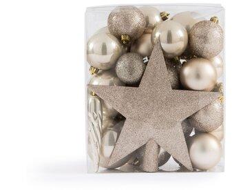 Coffret de 33 pièces de Noël coloris perle, Caspar LA REDOUTE INTERIEURS Perle