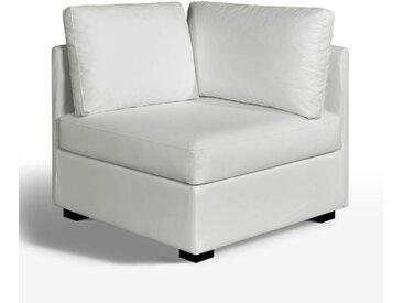 Élément d'angle, confort supérieur, cuir, Robin LA REDOUTE INTERIEURS Blanc