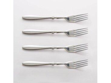 Lot 4 fourchettes inox, RAKINEN LA REDOUTE INTERIEURS Inox