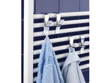 Lot de 4 crochets pour radiateur LA REDOUTE INTERIEURS Argent