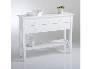 Console pin massif, Perrine LA REDOUTE INTERIEURS Blanc