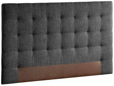 Tête de lit capitonnée, Selve, H100 cm AM.PM Gris Anthracite Chiné