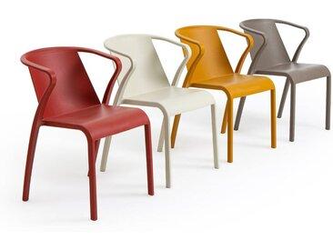 Lot de 2 fauteuils en polypropylène, Predsida LA REDOUTE INTERIEURS Moutarde