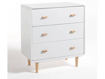 Commode 3 tiroirs Jimi LA REDOUTE INTERIEURS Blanc
