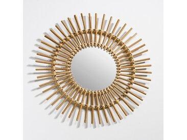 Miroir rotin forme soleil vintage, Nogu LA REDOUTE INTERIEURS Naturel