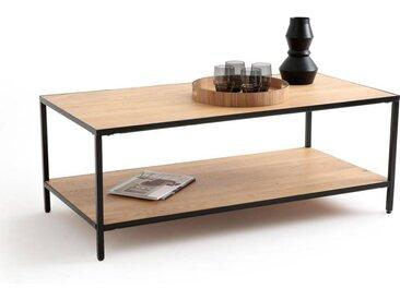 Table basse rectangulaire chêne et métal, Nova LA REDOUTE INTERIEURS Chêne