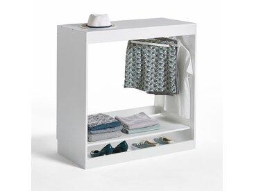 Module dressing penderie 1 étagère Build LA REDOUTE INTERIEURS Blanc