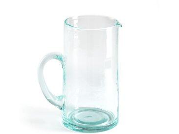 Carafe artisanale verre soufflé 1L. Gimani AM.PM Transparent