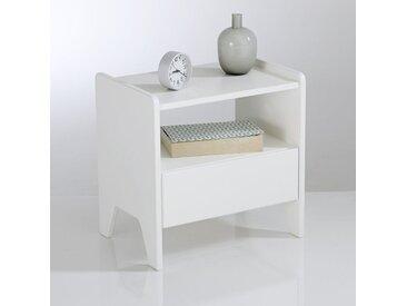 Chevet style rétro vintage, Adil LA REDOUTE INTERIEURS Blanc