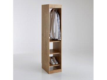 Module dressing, penderie + 3 tablettes Build LA REDOUTE INTERIEURS Bois Chêne Arlington