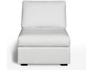 Chauffeuse, confort excellence, cuir, Robin LA REDOUTE INTERIEURS Blanc