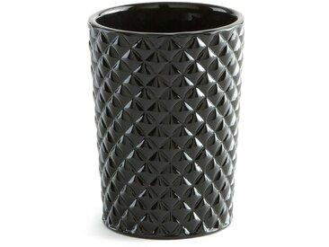Gobelet de salle de bain PLIAC LA REDOUTE INTERIEURS Noir