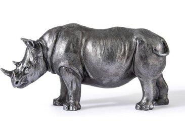 Statuette rhinocéros, Kami AM.PM Argent
