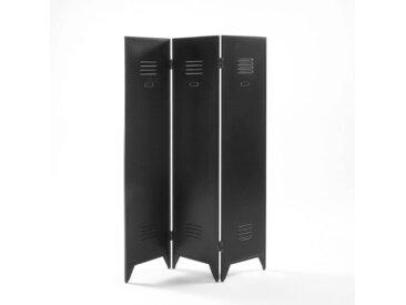 Paravent métal style industriel, Hiba LA REDOUTE INTERIEURS Noir