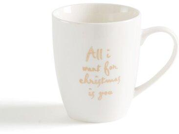 Mug Christmas LA REDOUTE INTERIEURS Blanc