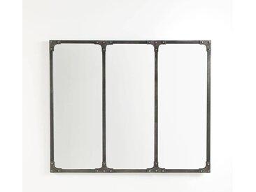 Miroir industriel, Lenaig LA REDOUTE INTERIEURS Métal Brossé