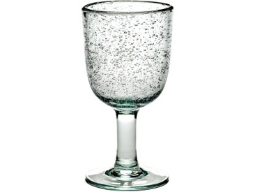 4 verres à vin blanc Pure design P. Naessens Serax AM.PM Transparent
