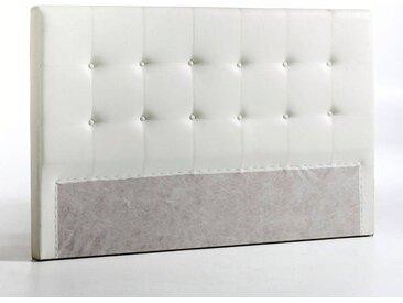 Tête de lit, 2 revêtements, 1 ou 2 pers., Numa LA REDOUTE INTERIEURS Blanc